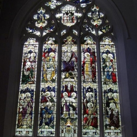 Stained Glass Window, St Peter & St Paul Church, Wisbech. - Jim Linwood