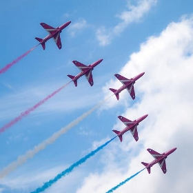 The Red Arrows - wwarby