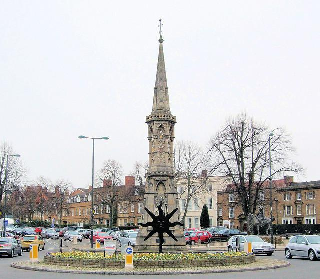 Banbury Cross, Oxfordshire.