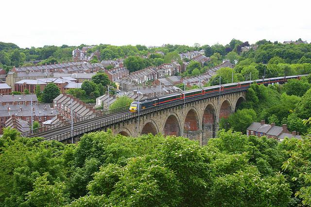 Over Durham's Viaduct