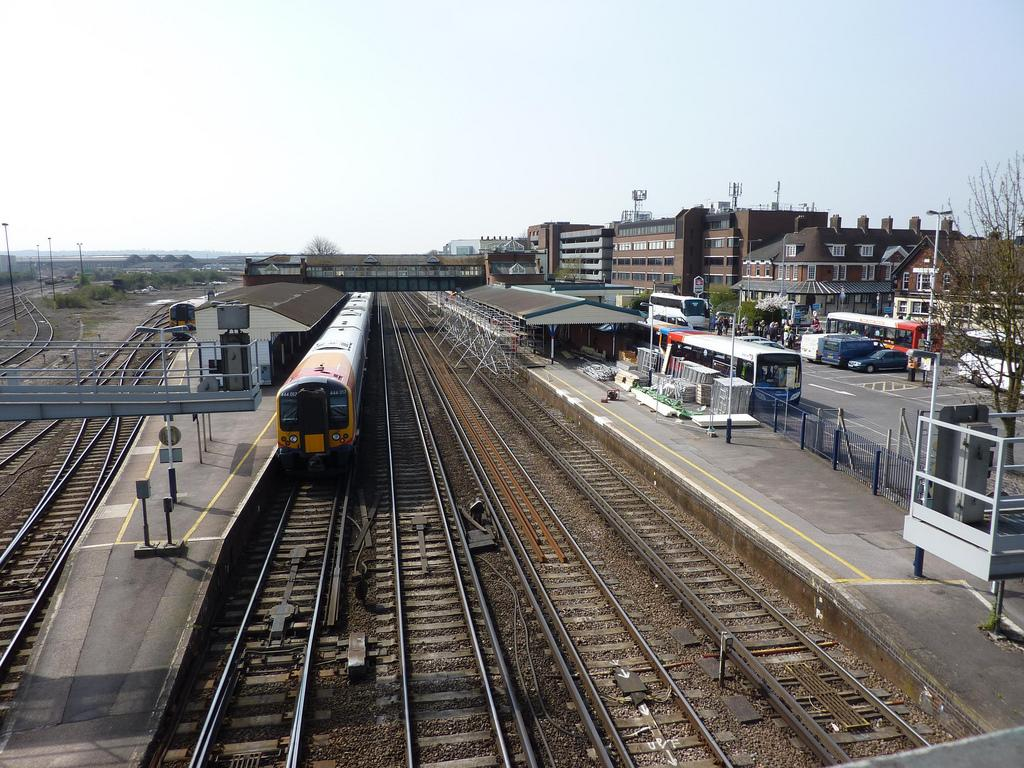 Sunday engineering works at Eastleigh