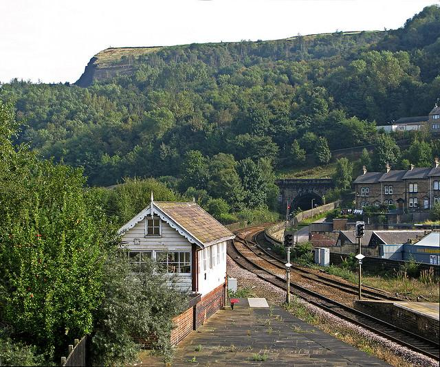 Beacon Hill from Halifax Station
