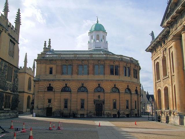 The Sheldonian Theatre, Oxford.