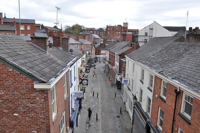 Stockport ghost town