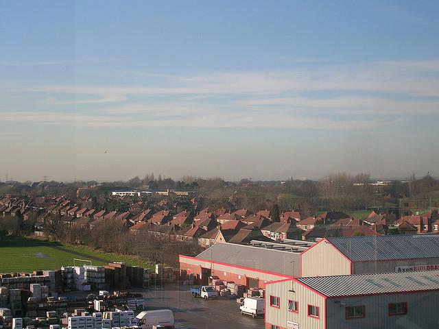 Stretford from Stockport