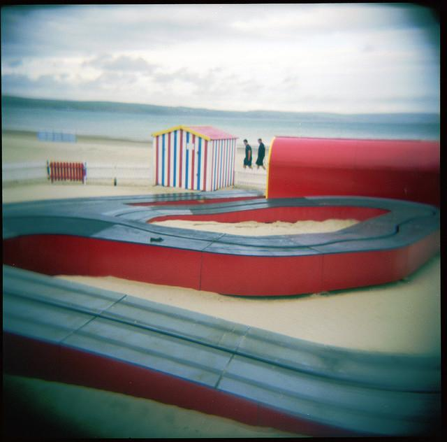 Weymouth Beach Kart Track