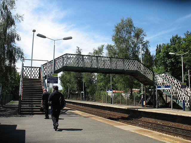 Widnes Train Station, Widnes, England