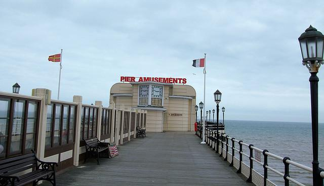 Pier Amusements, Worthing Pier, West Sussex.