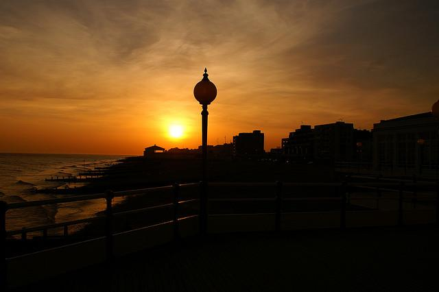 Worthing at sunset029