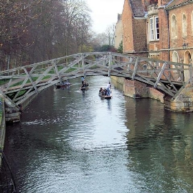 The Mathematical Bridge Over The River Cam, Cambridge. - Jim Linwood
