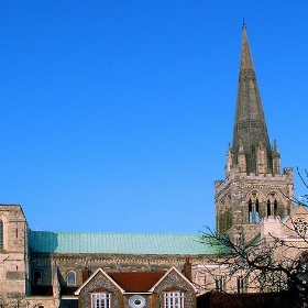 Chichester Cathedral - wit