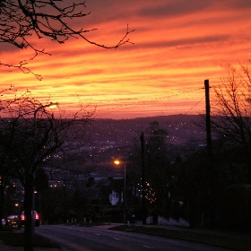 Sunset in High Wycombe - Dicky85