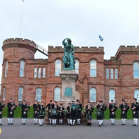 Northern Constabulary Pipe Band 2009 at Inverness Castle Scotland - conner395