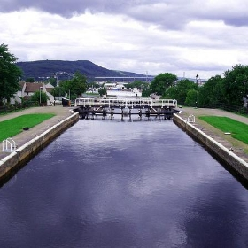 Caledonian Canal at Muirtown Locks Inverness Scotland - conner395