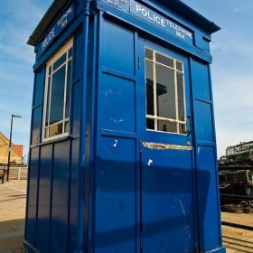 Police Box in Scarborough - Thomas Tolkien