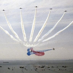 Southend Airshow 1986 Red Arrows - Beechwood Photography