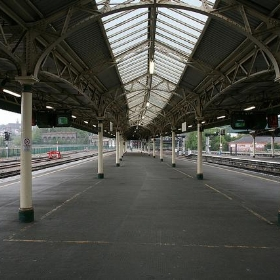 On the platform - Bristol station - StressedTechnician