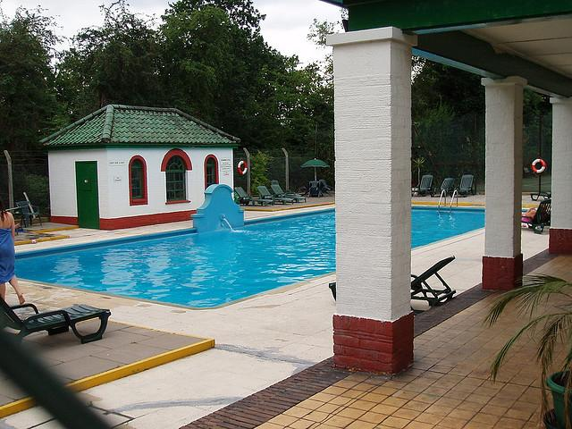 Ealing Village Swimming Pool. Where I learnt to swim!