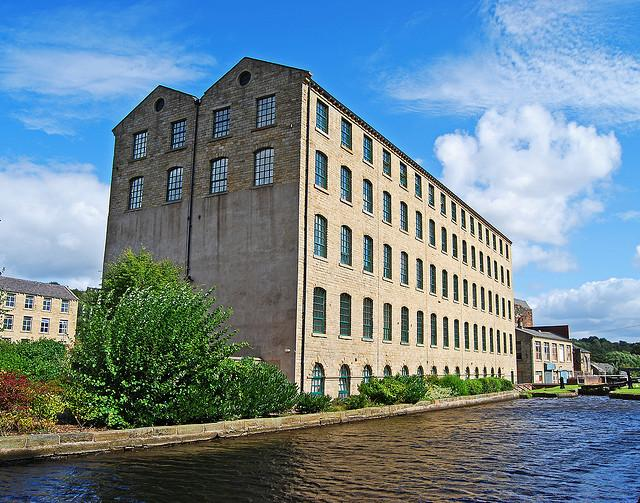 Mills by the Huddersfield Narrow Canal