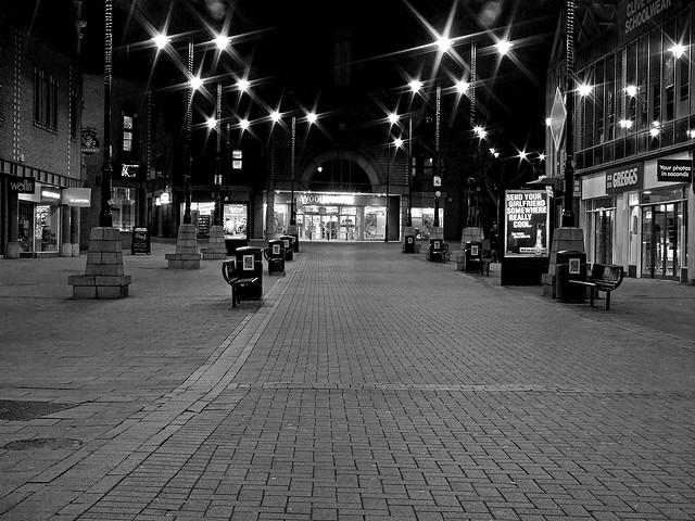 Walsall at Night - Park Street